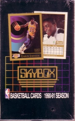 1990 91 Skybox Series 1 Basketball Unopened Hobby Box ()