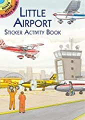 This entertaining little activity book invites children to create a busy airport scene with the help of 30 full-color peel-and-apply stickers.Because the stickers are reusable, children can create as many different ...