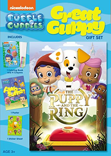 Bubble Guppies: The Puppy and the Ring - Great Guppy Gift Set (Ovation Bubbles Belt)
