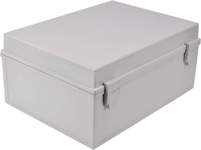 Ogrmar ABS Plastic Dustproof Waterproof IP65 Junction Box Universal Durable Electrical Project Enclosure With Lock (5.9