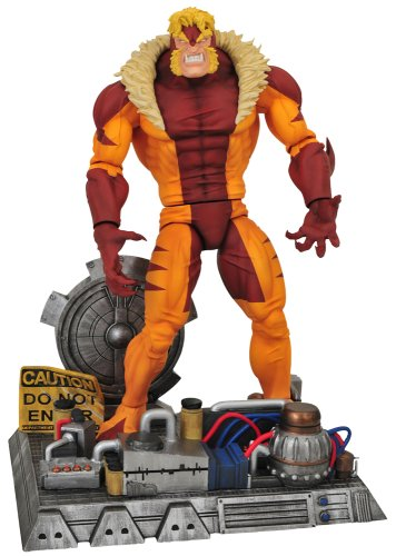 Diamond Select Toys Marvel Select Sabretooth Action Figure