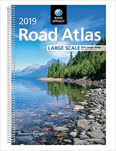 2019 Rand McNally Large Scale Road Atlas: Rand McNally ...