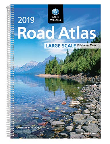 2019 Rand McNally Large Scale Road Atlas (States Road Large United Map)