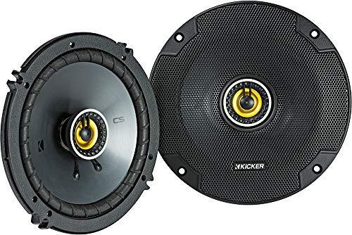 "Kicker 46CSC654 Car Audio 6 1/2"" Coaxial Full Range Stereo Speakers Pair CSC65"