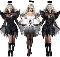Simu EU Disfraz de ángel Oscuro del Desierto para Fiesta de ...