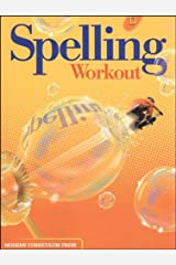 SPELLING WORKOUT LEVEL D PUPIL EDITION Paperback