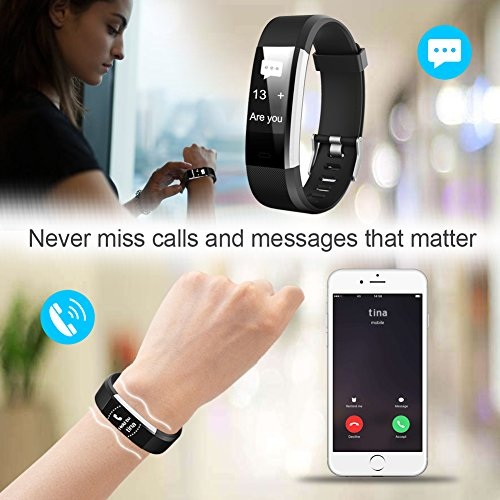 Letsfit Fitness Tracker Hr Activity Tracker Watch With