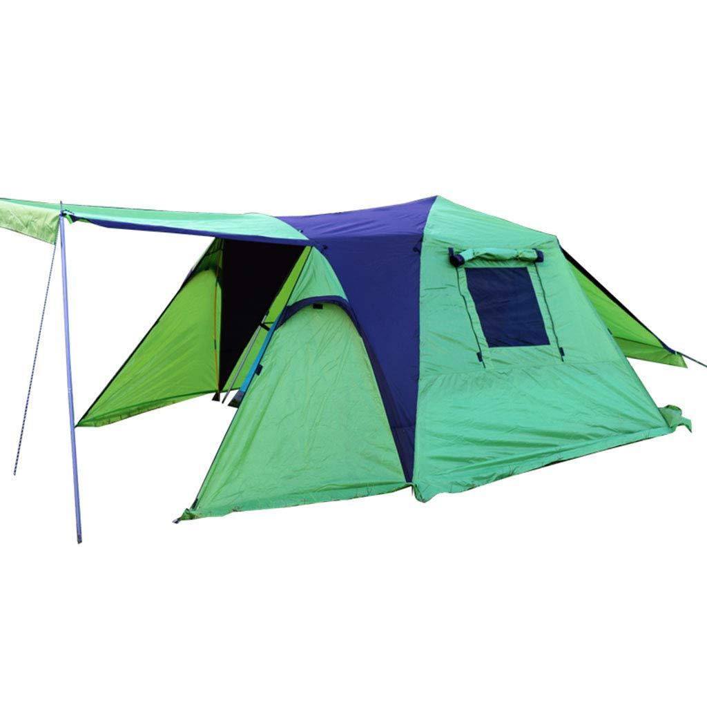自動アルミポールスピードオープンテント日焼け止め防風雨2-3人自動運転屋外キャンプ野生のテント   B07P5RH6GS