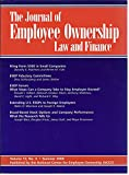 img - for The Journal of Employee Ownership - Law and Finance (Summer 2000) (academic journal) book / textbook / text book