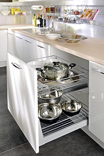 300mm Self soft close , pull out kitchen storage full extension NOMET