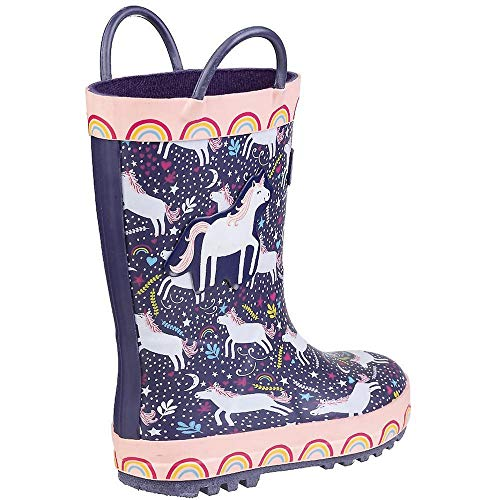 Cotswold Childrens/Kids Sprinkle Rain Boots