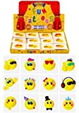 Henbrandt 36 Smiley Face Children's Temporary Tattoos - Great for Party Item