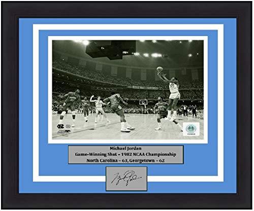 North Carolina Michael Jordan 1982 Finals Game-Winning Shot 8