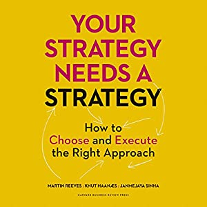 Your Strategy Needs a Strategy Hörbuch