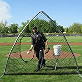 TAG Softball A-Frame Screen with Carrying Bag