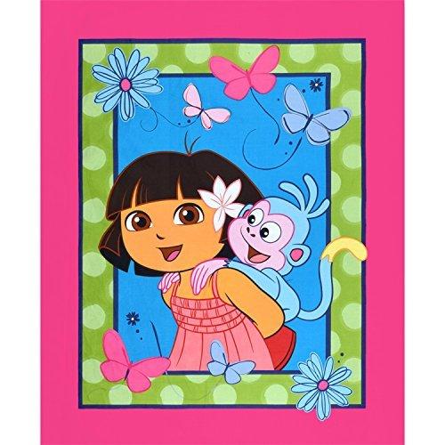 Springs Creative Nickelodeon Dora The Explorer Dora & Boots Panel -
