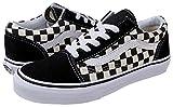 Vans Kids K Old Skool Primary Check Black White, 2