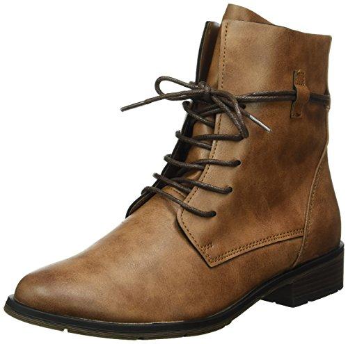 Marco Tozzi Damen 25110 Combat Boots, Braun (Cognac Antic 410), 38 EU