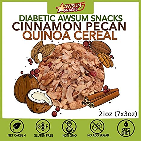 Diabetic Awsum aperitivos para una semana (3 oz 7 unidades ...