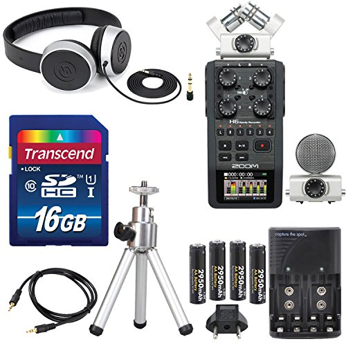 Zoom Six Track Interchangeable Microphone Accessory