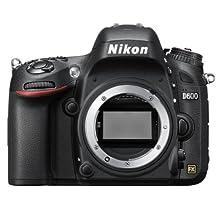 Nikon D600 Digital SLR Camera Body Only (24.3MP) 3.2 inch LCD