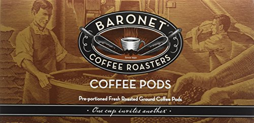 Baronet Coffee Tanzania Pea Berry, 54 Count