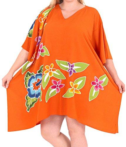 La Leela la Leela Beachwear taille plus hauts transat en vrac tunique blouse couverture bikini ups