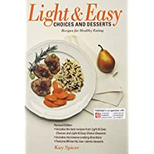 Light & Easy Choices and Desserts