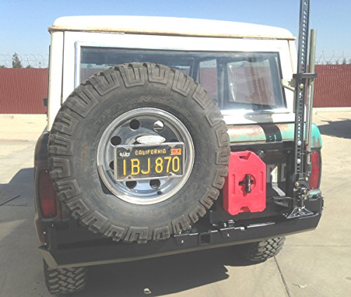 Used, Hanson Offroad-FEBCTCR-P-Bronco Square Frame Carrier for sale  Delivered anywhere in USA