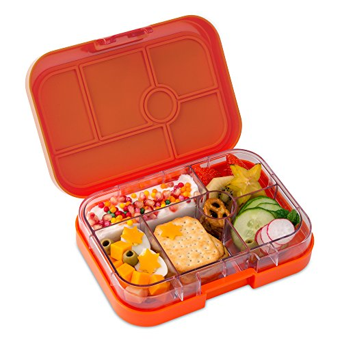 yumbox papaya orange leakproof bento lunch box container for kids buy online in uae. Black Bedroom Furniture Sets. Home Design Ideas