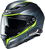 HJC F70 Full Face Motorcycle Helmet with Smart HJC 20B Bluetooth Headset Feron MC3HSF 2Xlarge