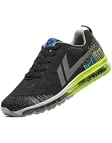 Zapatillas Deporte Hombre Zapatos para Correr Athletic Cordones Air Cushion  Running Sports Sneakers 43465e1e60c