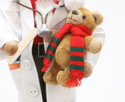 German Christmas Nutcracker - Dr. Santa Claus Limited - 45,5cm / 18 inch - Christian Ulbricht