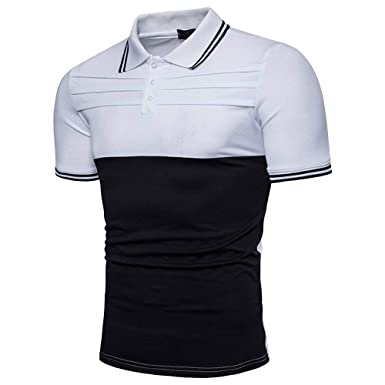 Polo Camisa De Verano para Hombres De Gran Ropa Tamaño Camisa De ...