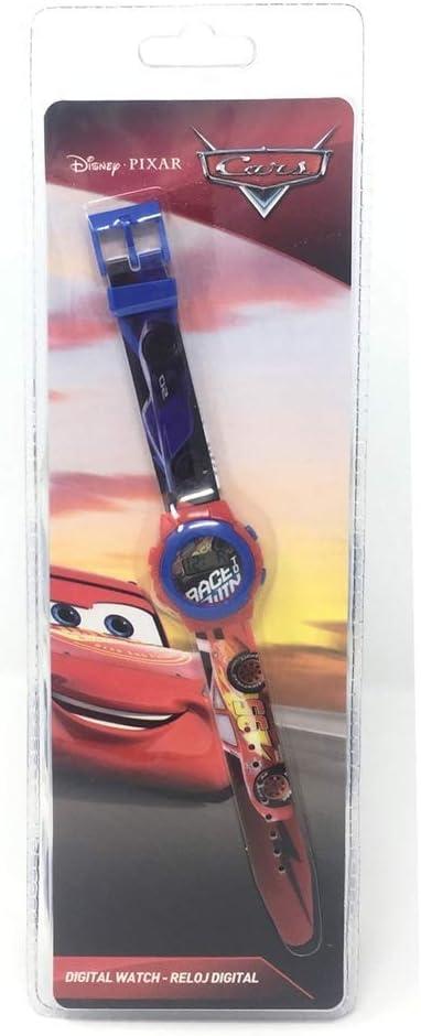 Cars Reloj Digital (WD19651), Multicolor (Kids Licensing 1)
