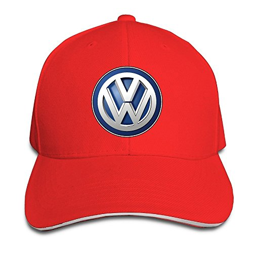 MaNeg Volkswagen Logo Sandwich Peaked Hat & - Snapback Prada
