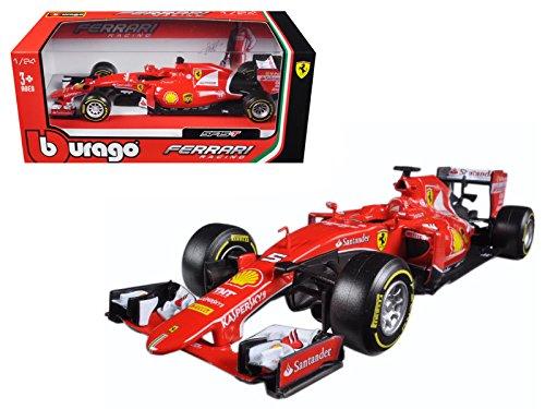 Bburago Ferrari F1 Formula 1 SF15-T Sebastian Vettel 1 24 Diecast Model Car 08dfdaea312