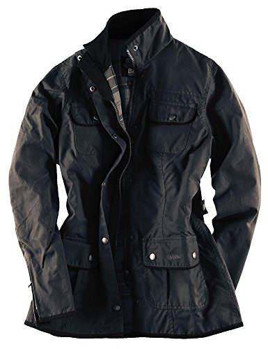 Barbour Women's Cavalry Polarquilt Jacket US6/ UK10 Black Barbour Fleece Jacket