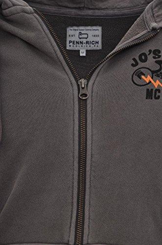 Woolrich Tortora rich Penn Vintage 510 Penn Uomo Felpagrey Rich Felpa FqvHzw5