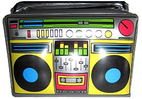 Mondial-fete - Radio portátil hinchable, 50 x 35 cm: Amazon.es: Hogar