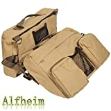 Alfheim Cotton Canvas Dog Pack Hound Travel Camping Hiking...