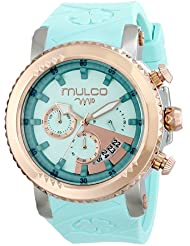 MULCO Unisex MW5-2870-433 Analog Display Japanese Quartz Blue Watch