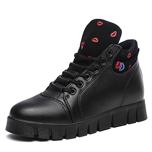 Hasag Zapatos de Mujer nuevos Zapatos Deportivos Transpirables para Correr Zapatos Deportivos Zapatos Individuales black