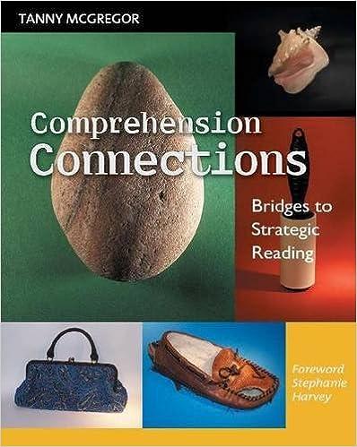 Amazon.com: Comprehension Connections: Bridges to Strategic ...
