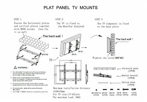 how to add brackets to sharp aqous tv