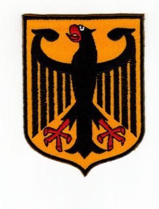 Iron-On Patch Appliqu/é Germany Crest Federal Eagle Flag