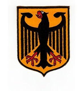 Escudo de Armas Alem/án /águila Imperial Alemana Bandera Airsoft PVC Parche Real