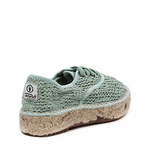 Sneakers Voor Dames Espadrille Met Natuurlijke Wereld 686-w Opalo Sz 37