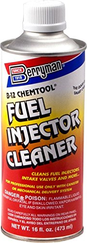Berryman 1126 B-12 Chemtool Thru-Rail Fuel Injection Pour-In Cleaner, 16 oz. Pour-In Can