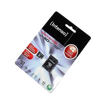 Tarjeta de Memoria microSDHC 4GB para Ricoh WG-4 GPS, Clase ...